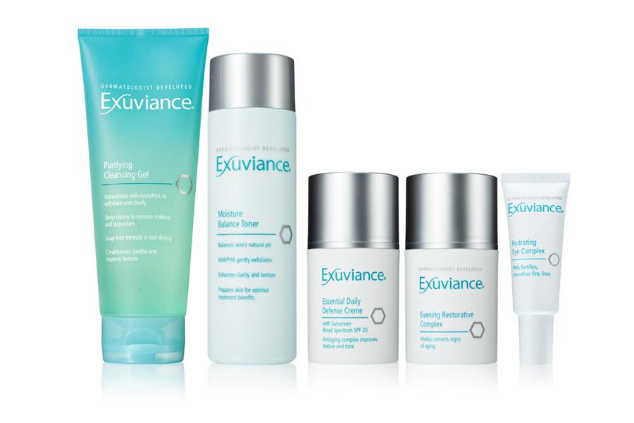 Exuviance tuotteet normaalille iholle
